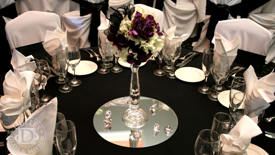 12 inch round mirrors for wedding table centerpieces ebay for 12 inch round table mirrors