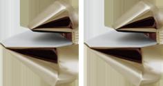 Corner Floating Glass Shelf 6 X 6 W Brushed Nickel Brackets