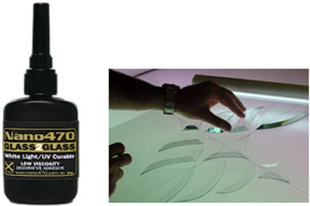 Nano470 Decorative Glass Glue
