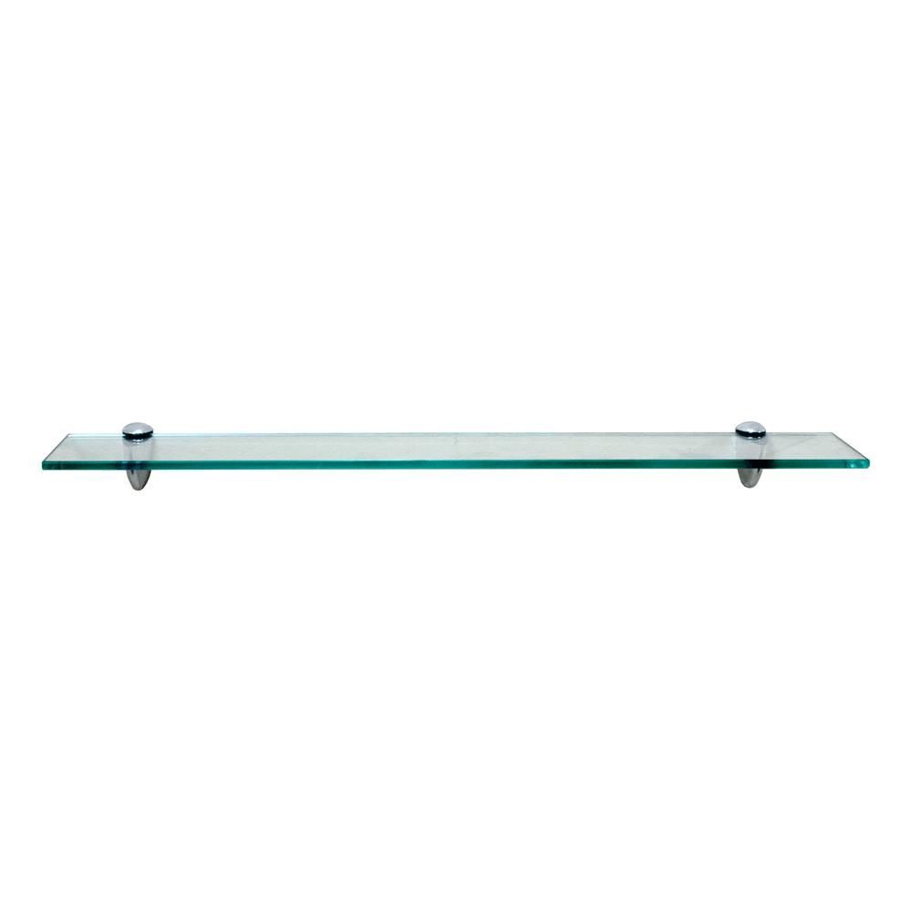 Fiora Series Glass Shelf: Clear Glass SHGS-F01CCH