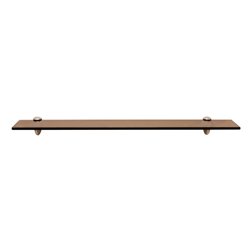 Fiora Series Glass Shelf: Bronze Glass SHGS-F02BCH
