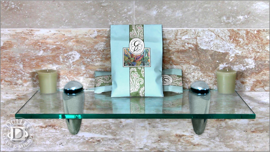 Rectangle Glass Shelf